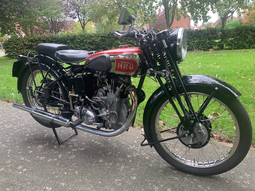 THE 1939 VINCENT MOTORBIKE THAT HELPED TO SPEED BRITAIN'S WAR EFFORT, TURNING FLOUR & TEXTILE MILLS