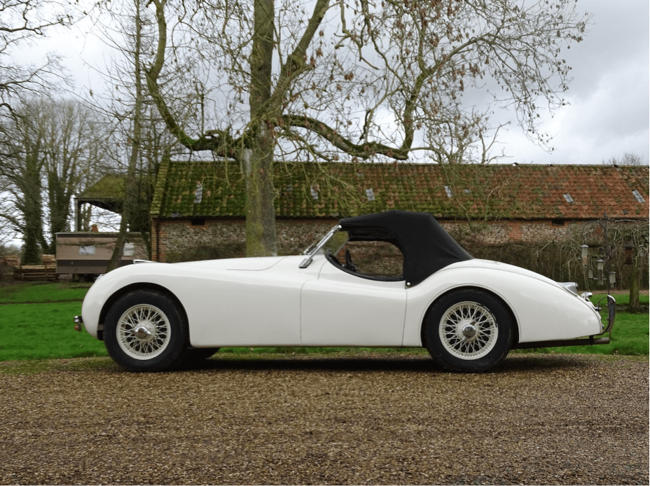 1953Jaguar XK120 Imperial War Museum Auction