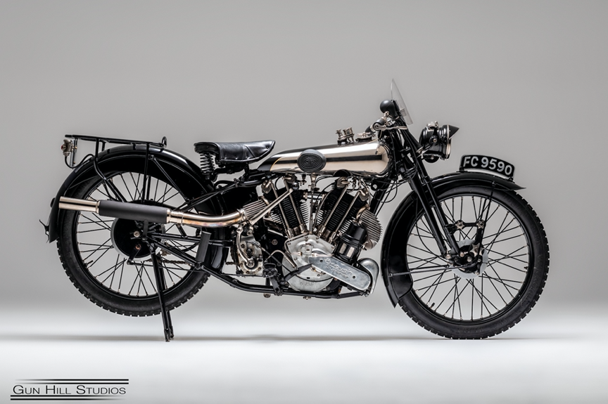 CHOICE OF FOUR BROUGH SUPERIORS FROM 1920s & 1930s AT H&H CLASSICS SALE, NATIONAL MOTORCYCLE MUSEUM