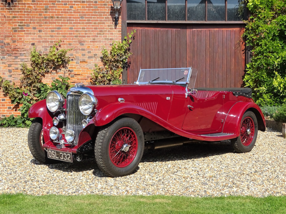 THE ULTIMATE SPORTING LAGONDA:   1934 LAGONDA M45 RAPIDE TOURER ONE OF JUST 53 PRODUCED FOR SALE