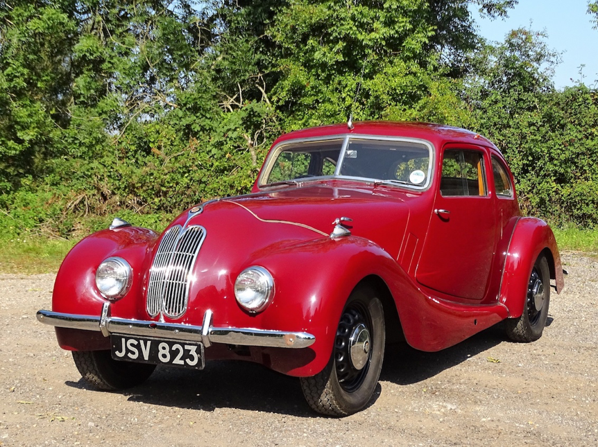 A WOLF IN SHEEP'S CLOTHING: 1948 BRISTOL 400 FIRST OWNED BY LADY DIANA WHITE OF BRISTOL FAMILY FAME