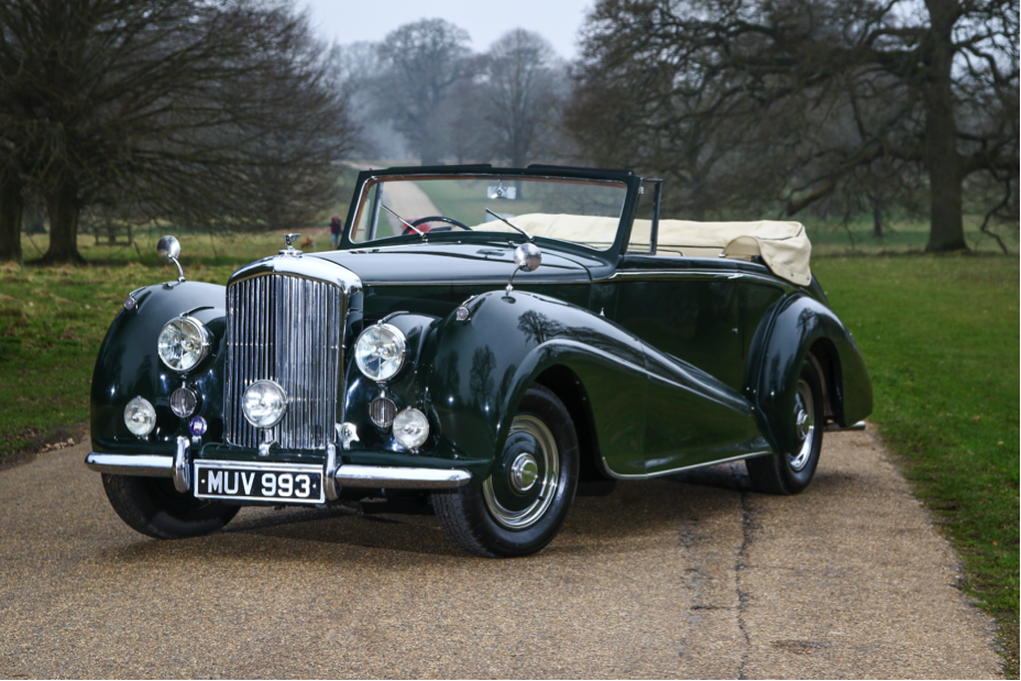 1952 Bentley MKVI Drophead Coupe for sale with H&H Classics at Duxford 14th April