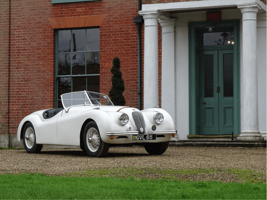 1953 Jaguar XK120 - Imperial War Museum Auction