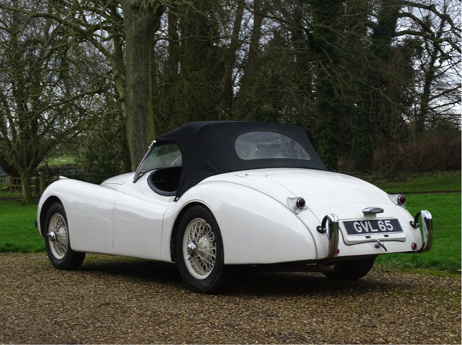 1953 Jaguar XK120 Imperial War Museum Duxford Auction