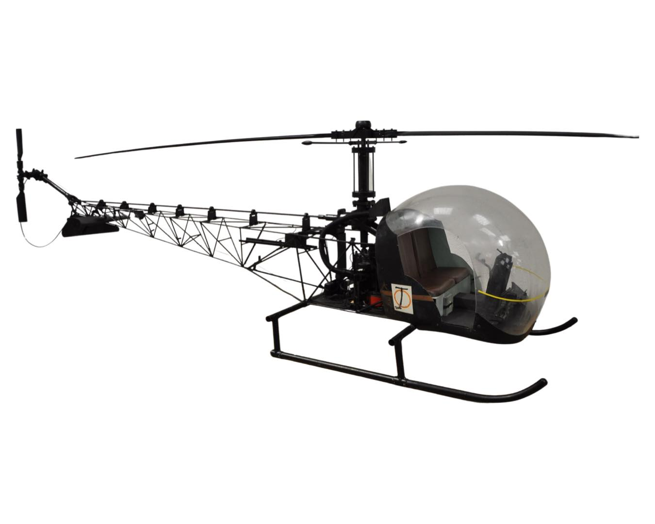 James Bond 007 Bell Model Helicopter used in 'You Only Live Twice'