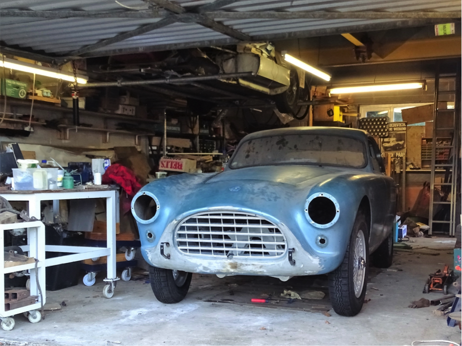 1960 AC Aceca Bristol Restoration Project sells for a record £101,200