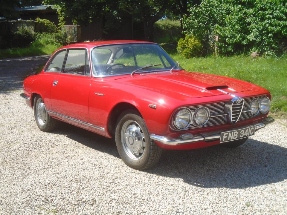 BULLET-RIDDEN ALFA WITH SHADY 'FRENCH CONNECTION' PAST AND UNIQUE DUCKTAIL SPOILER RETURNS