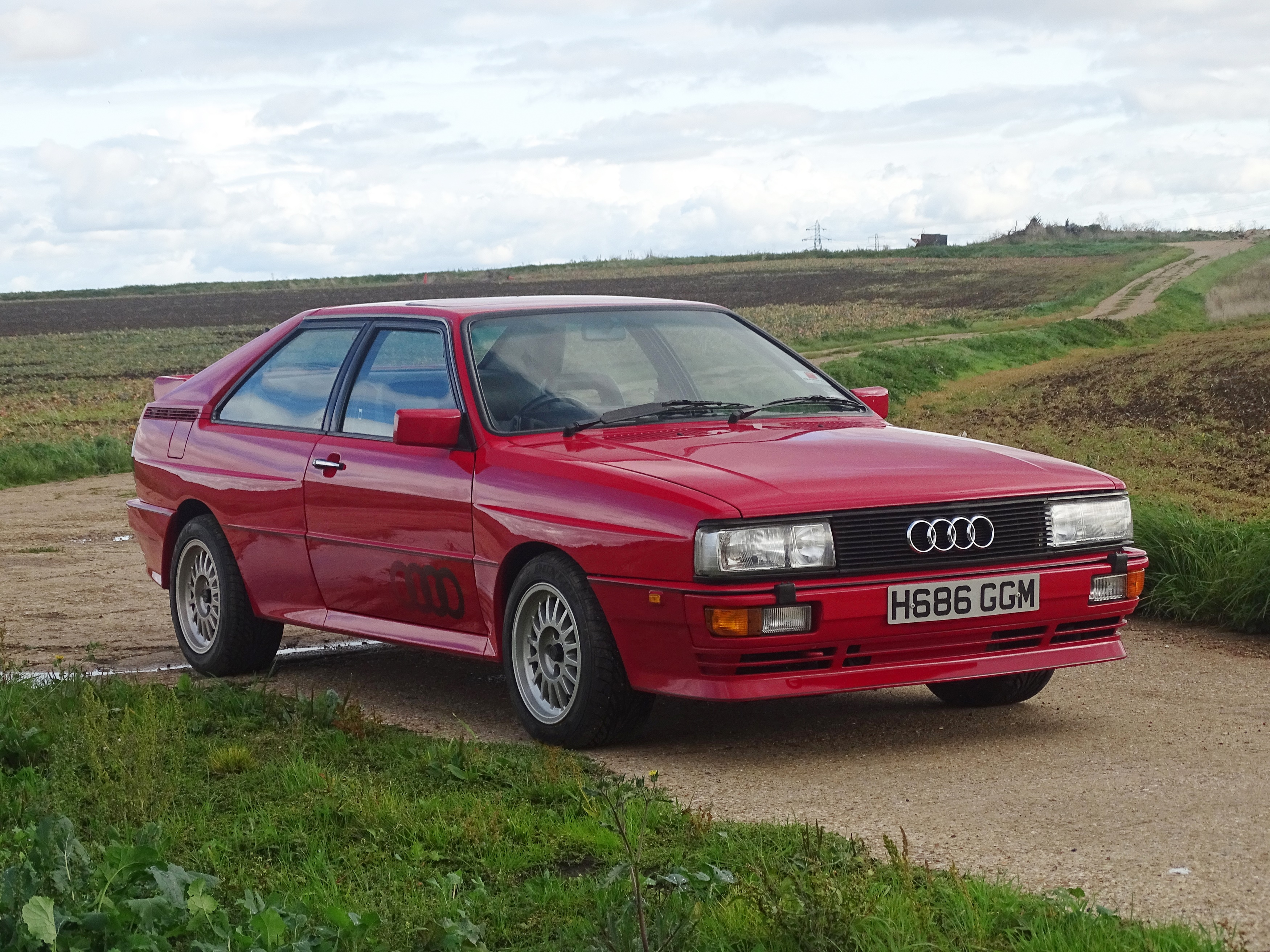 1990 Audi UR Quattro 2.2 Turbo RR 20V One of only 295 RHD 20V Models Produced