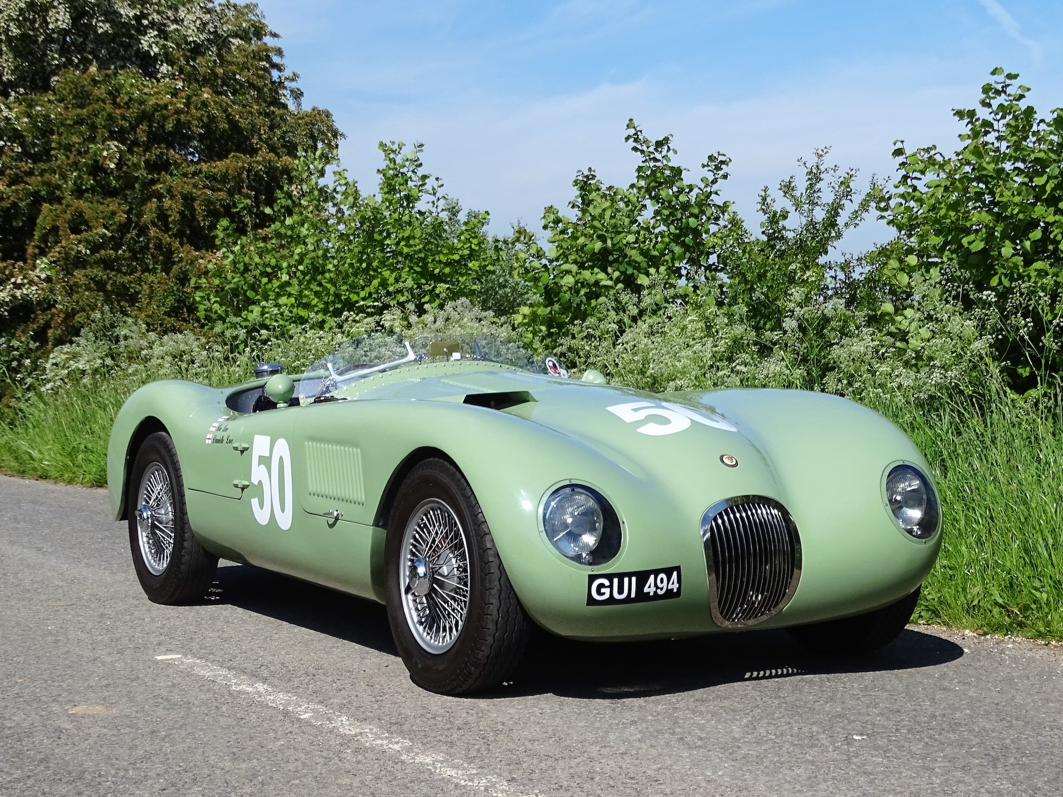 Labour of Love - A Copy of Tommy Wisdom's Factory-Supported Jaguar C-Type