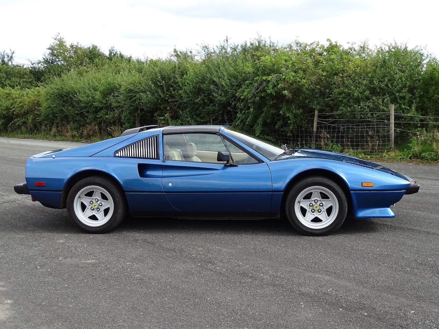 Iggy Pop S Rare Chiaro Blue Ferrari 308 Gts Qv That He Used To Let Off Steam Around Miami