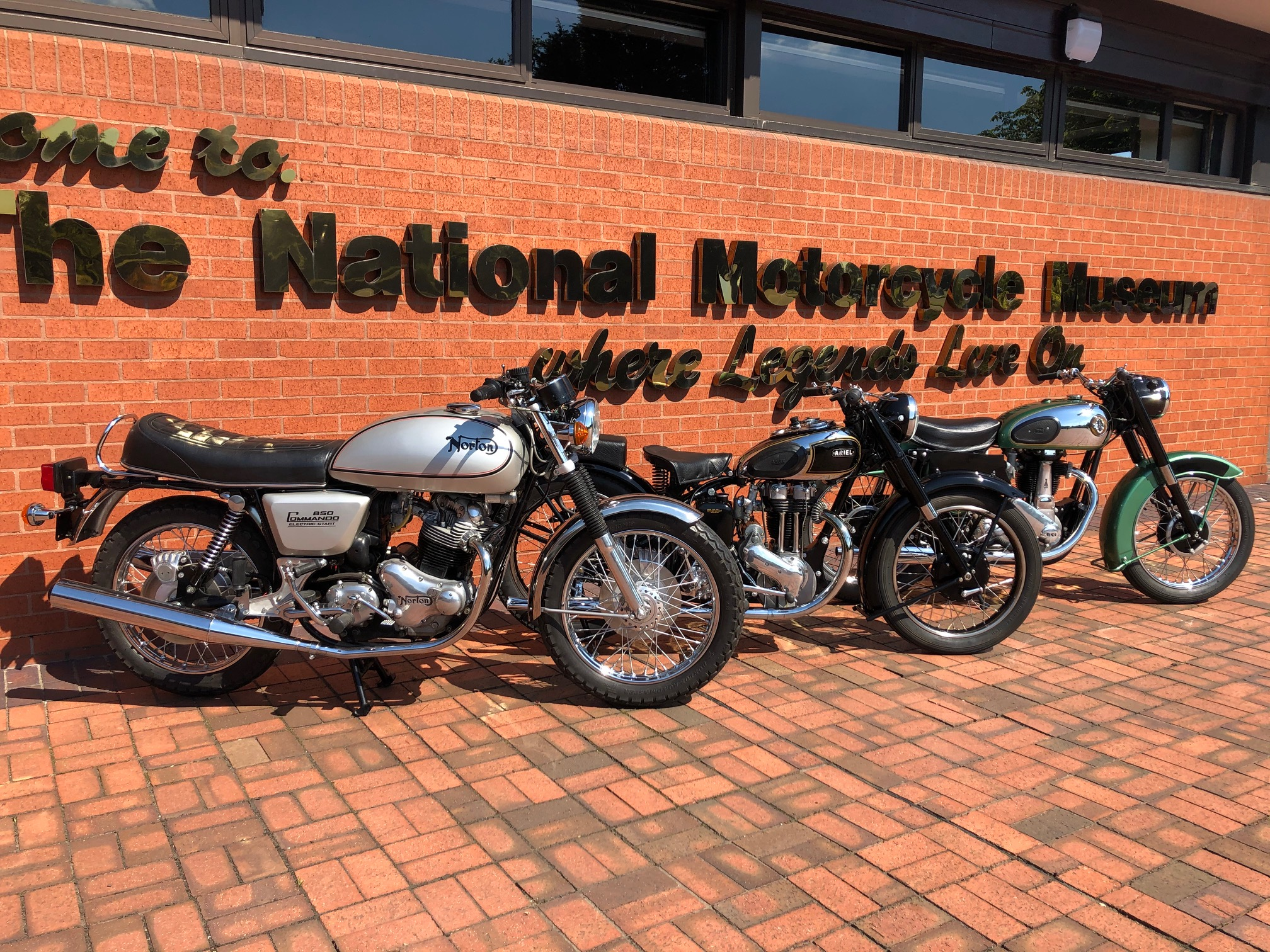 H&H Classics is pleased to support the national motorcycle museum covid-19 appeal and raffle
