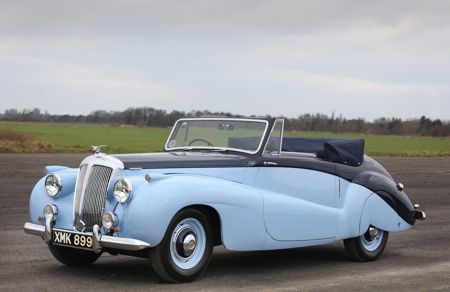 1952 Daimler DB18 Special Sports Drophead Coupe
