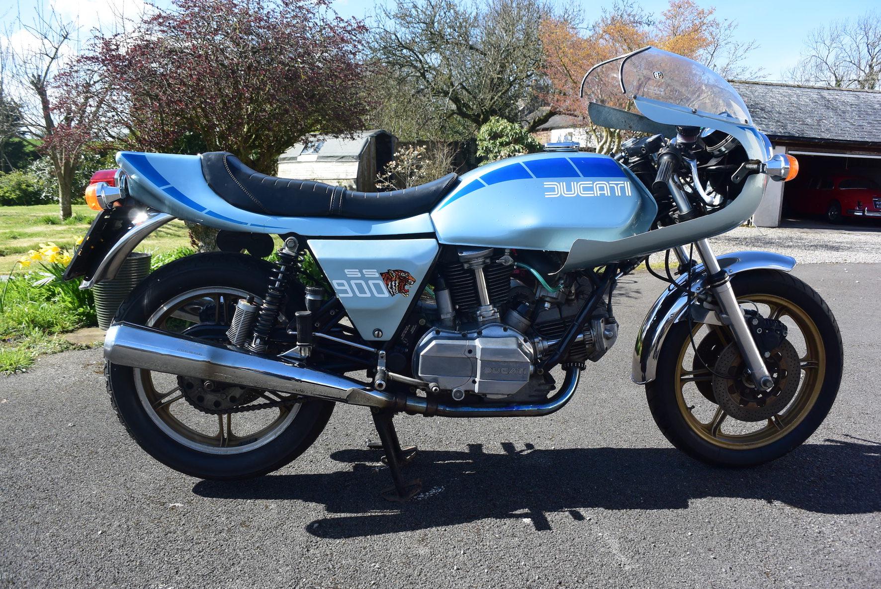 1980 Ducati 900SS Darmah racer bike