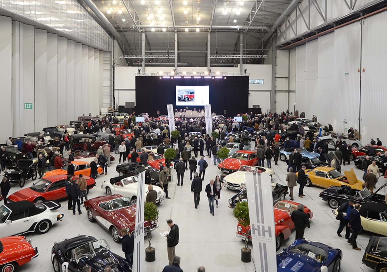 An auction of Classic & Collector Cars to be held at The Imperial War Museum, Duxford on October 14