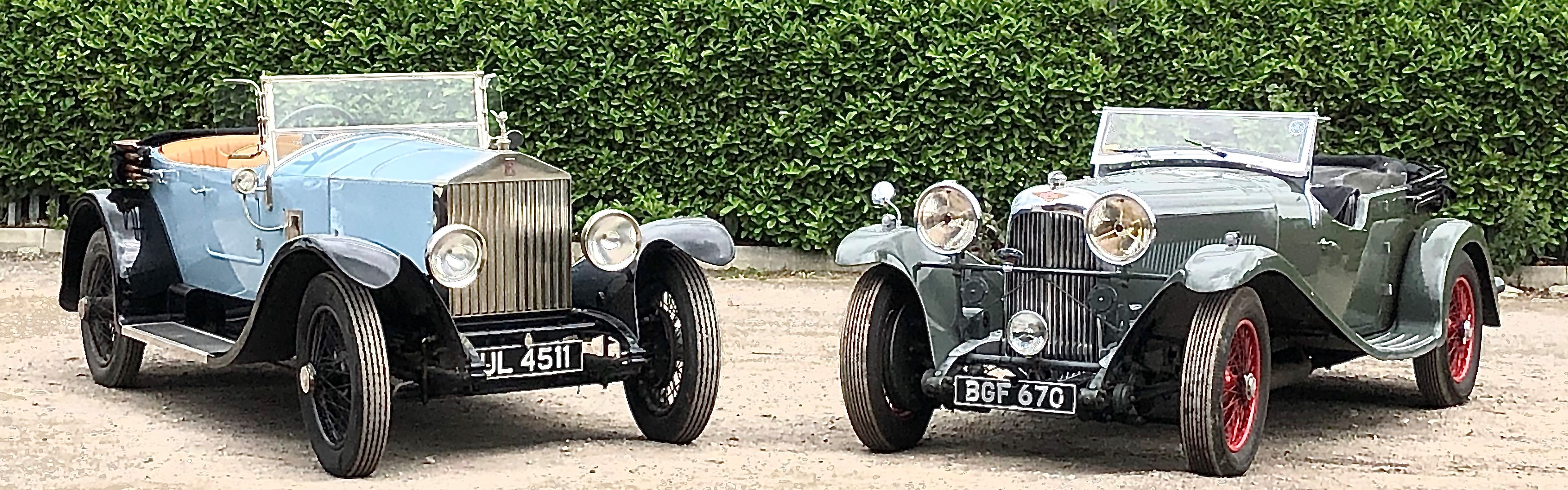 Classic Rolls Royce and Classic Lagonda