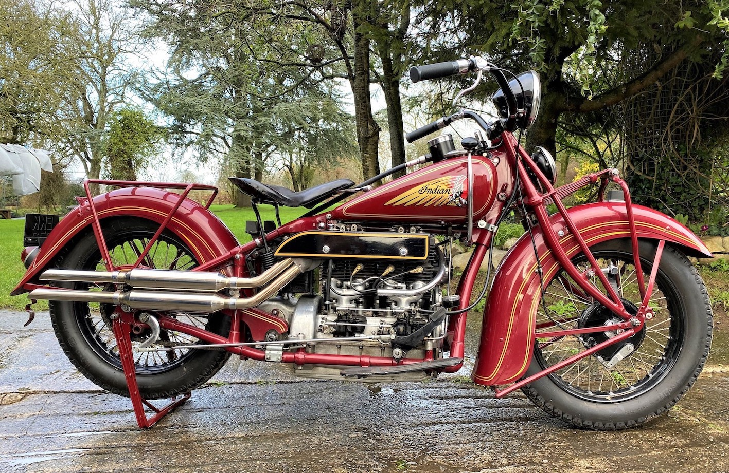 Indian Four Motorcycle