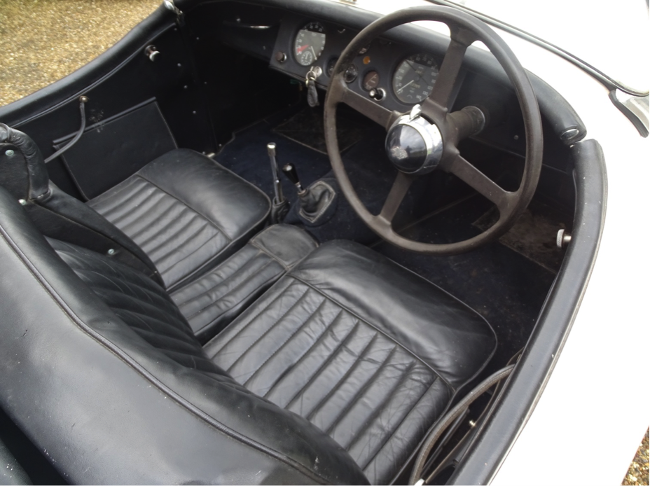 Interior 1953 Jaguar XK120 Imperial War Museum Duxford Auction