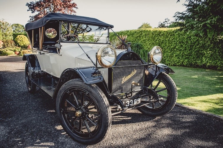 1915 HUPMOBILE OWNED BY IRISH FAMILY FOR 105 YEARS, AND ONE FAMILY OWNED 1951 LAGONDA BARNFIND