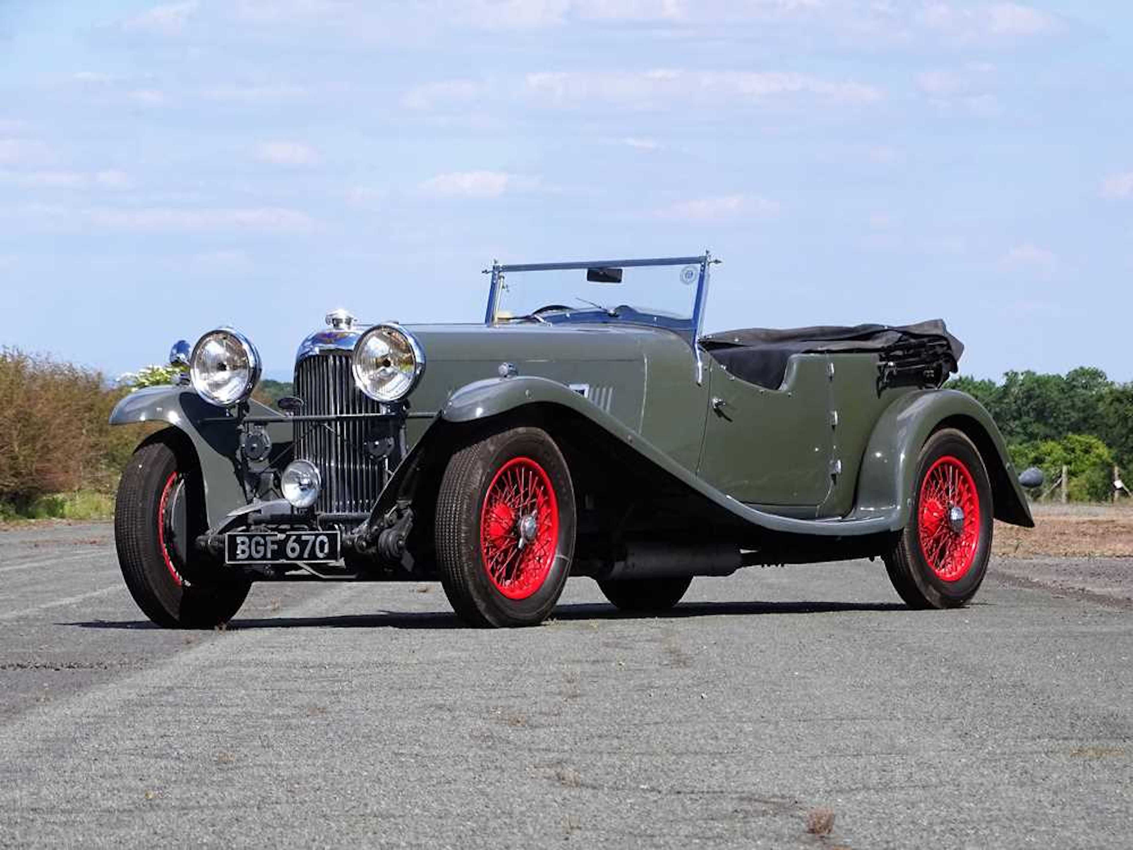 AMONG THE MOST DESIRABLE AND SPORTING LAGONDAS EVER MADE. 1934 LAGONDA M45 T7 TOURER