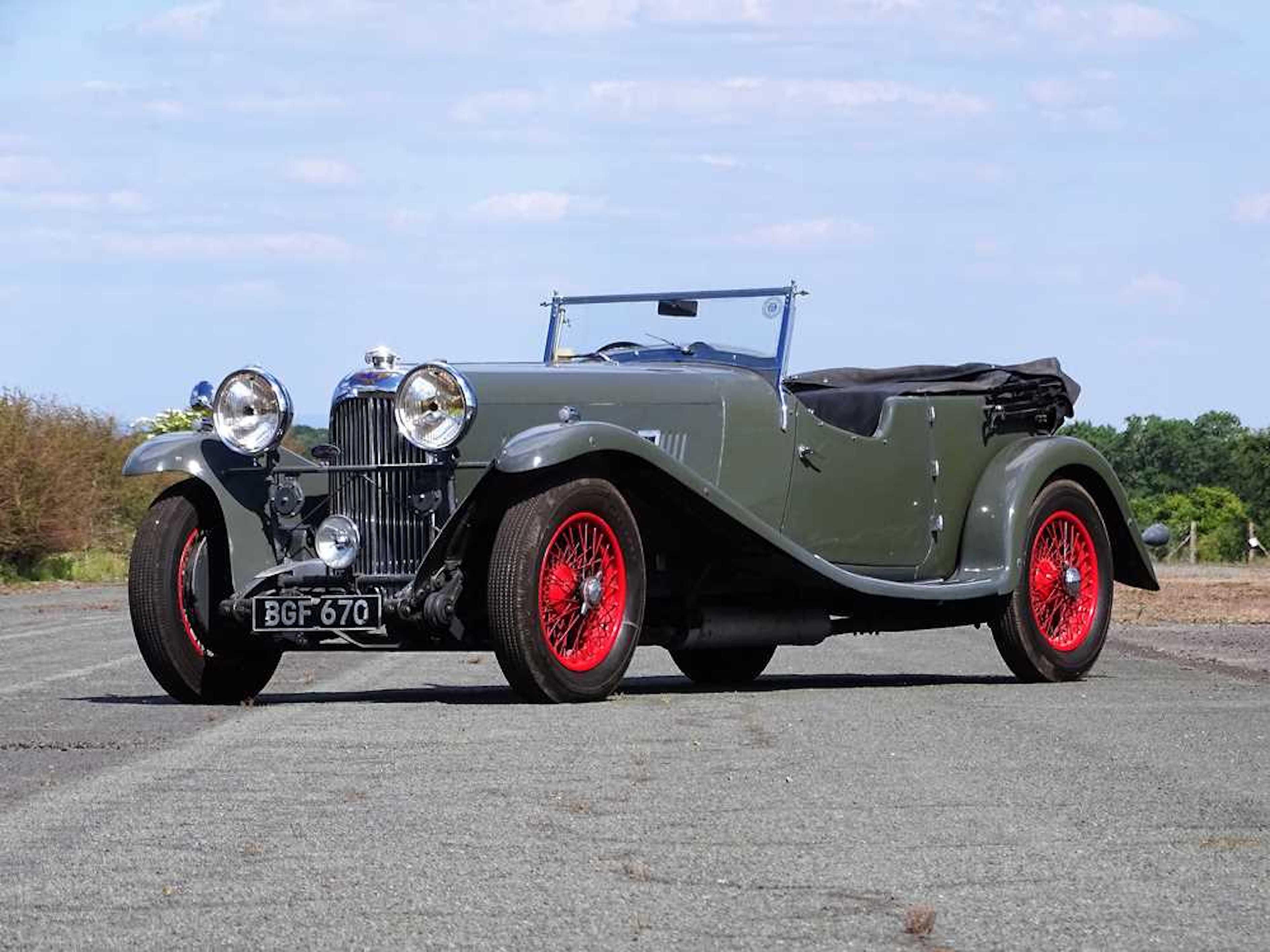 1934 Lagonda M45 T7 Tourer.