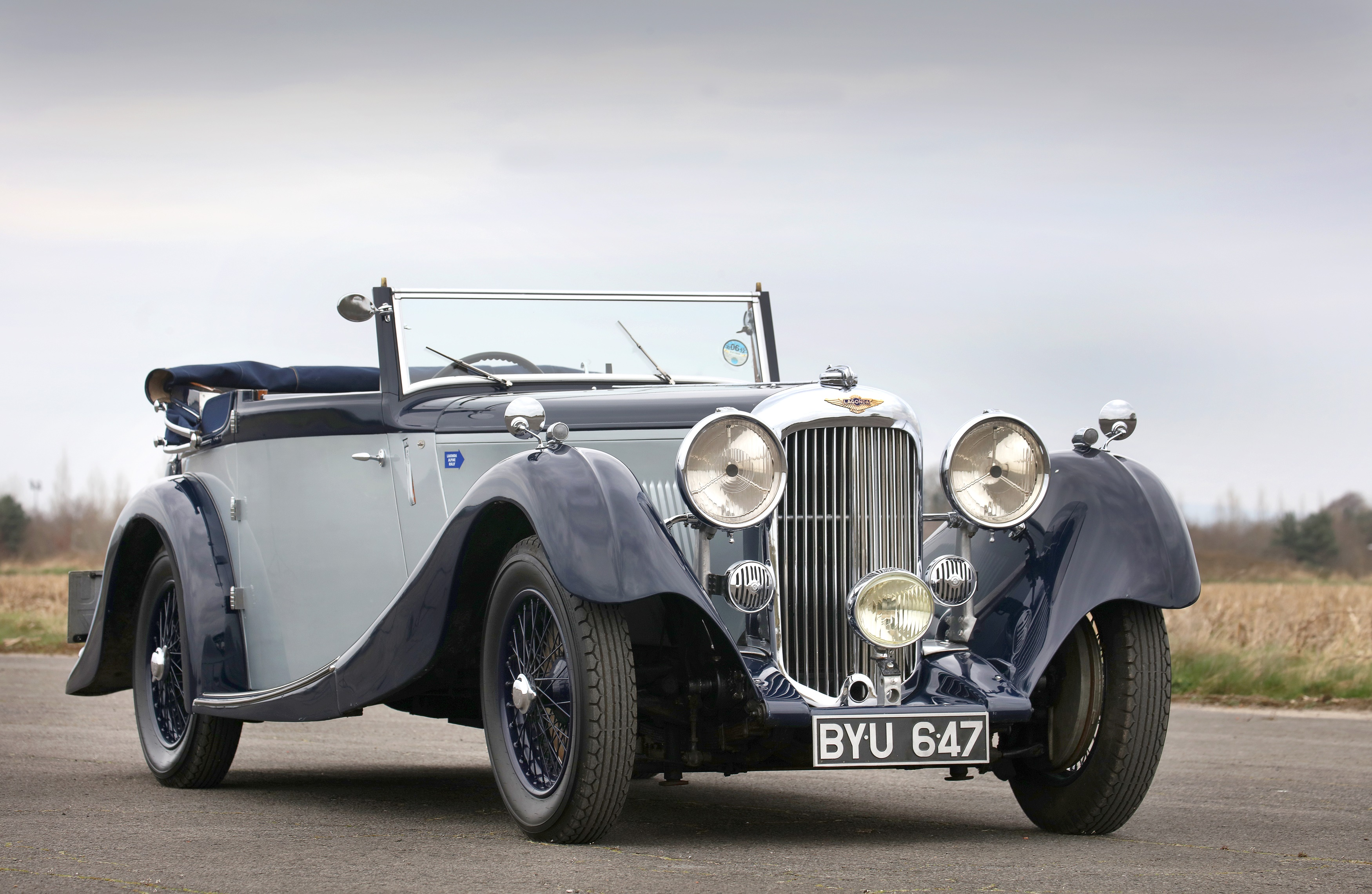 1 of just 53 1935 Lagonda M45 Rapide Three Position Drophead Coupe for sale