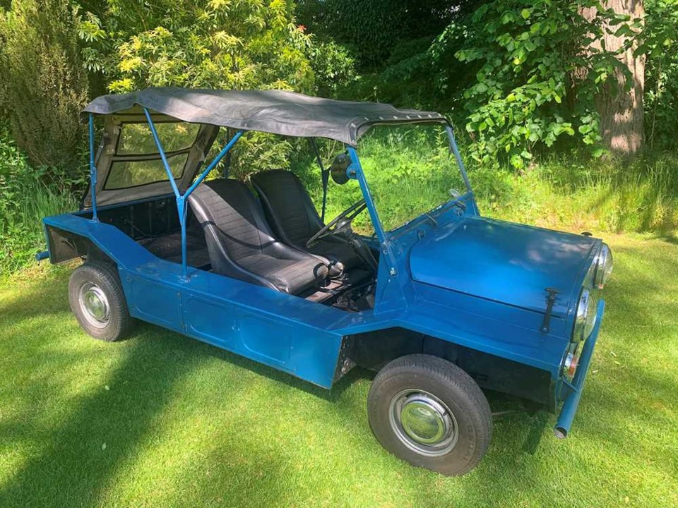 1964 MORRIS MINI MOKE OWNED BY FILM DIRECTOR KEITH EWART & HIS FAMILY FOR 51 YEARS