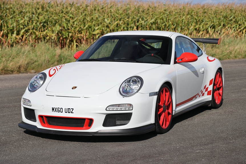 HIGHLY COLLECTABLE FACTORY FRESH FABLED 2010 PORSCHE 911 GT3 RS WITH JUST 3,600 MILES
