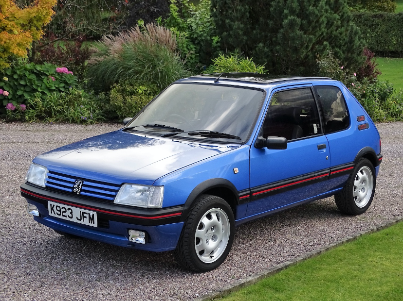 1992 Peugot 205 GTI 1.9 the UK