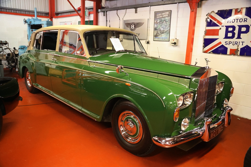 TRANSPORTS OF DELIGHT:  HARRODS ROLLS-ROYCE PHANTOM V1 FOR VALUED CLIENTS, PLUS BOAT & BUS