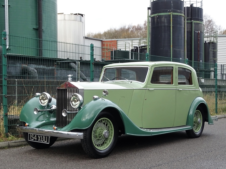 1937 ROLLS-ROYCE 25/30 THRUPP & MABERLY SPORTS SALOON – 1 OF JUST 38 - MADE TO GO UNDER THE HAMMER