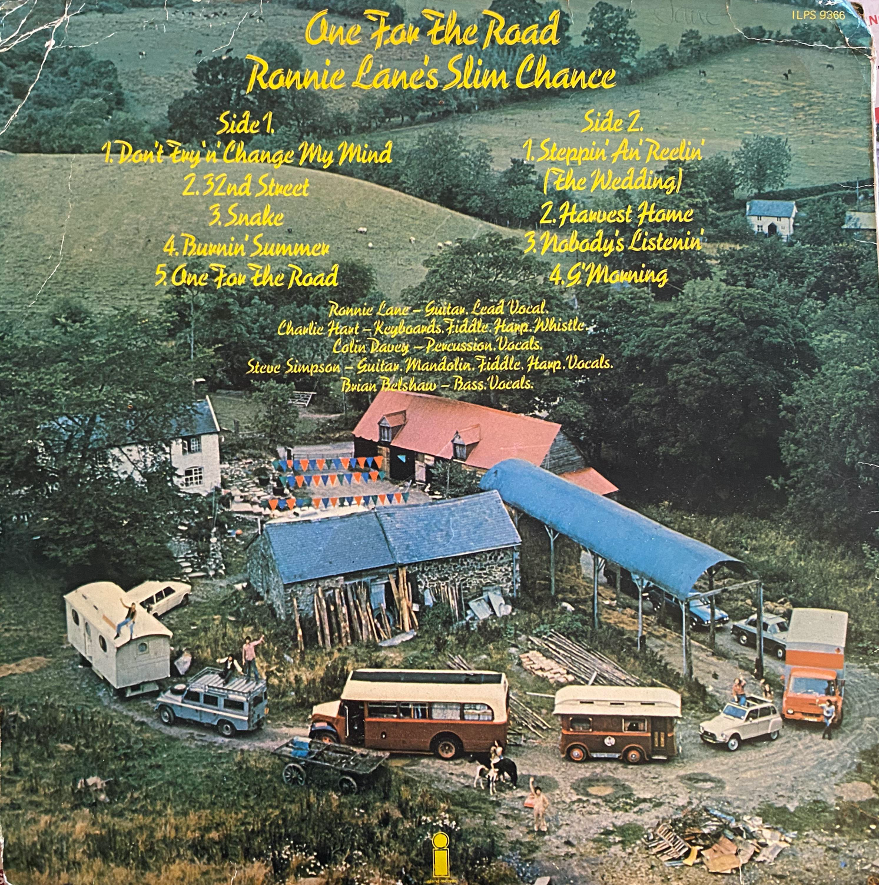 Ronnie Lane's Album Cover