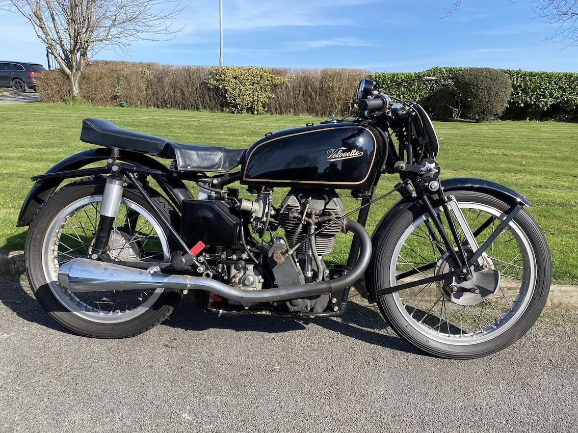 1949 Velocette MK8 KTT sold at auction