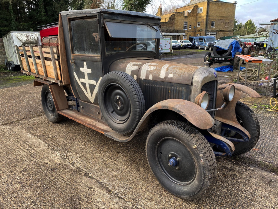 WW2 Citreon vintage Truck