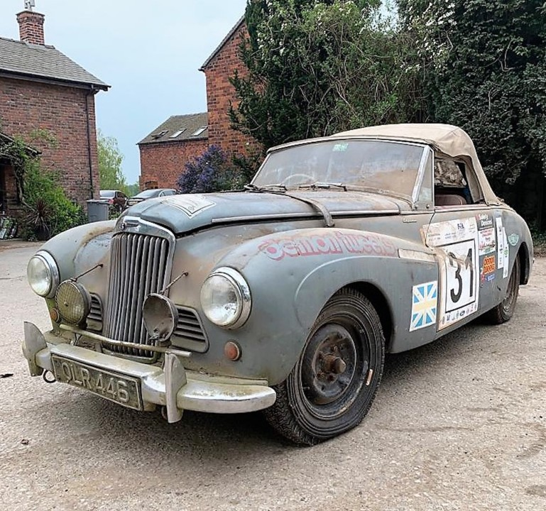 "BARNFIND REVIVES MEMORIES OF STIRLING MOSS & SHEILA VAN DAMM AND THE FILM ""TO CATCH A THIEF"""