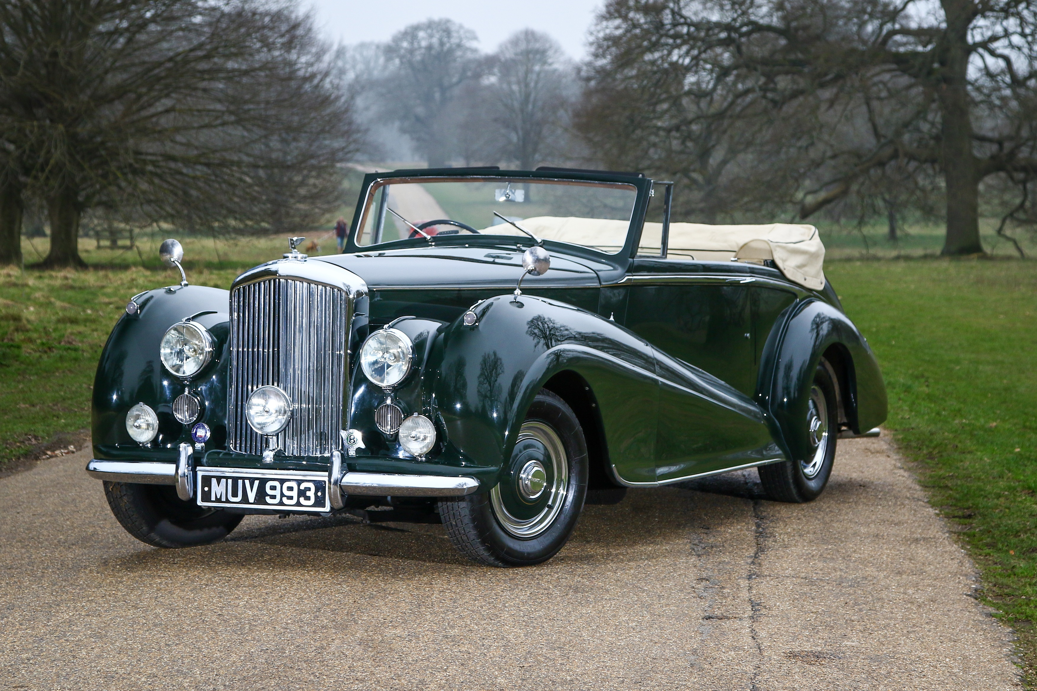 Selection of five Classic Bentleys with VIP connections for sale