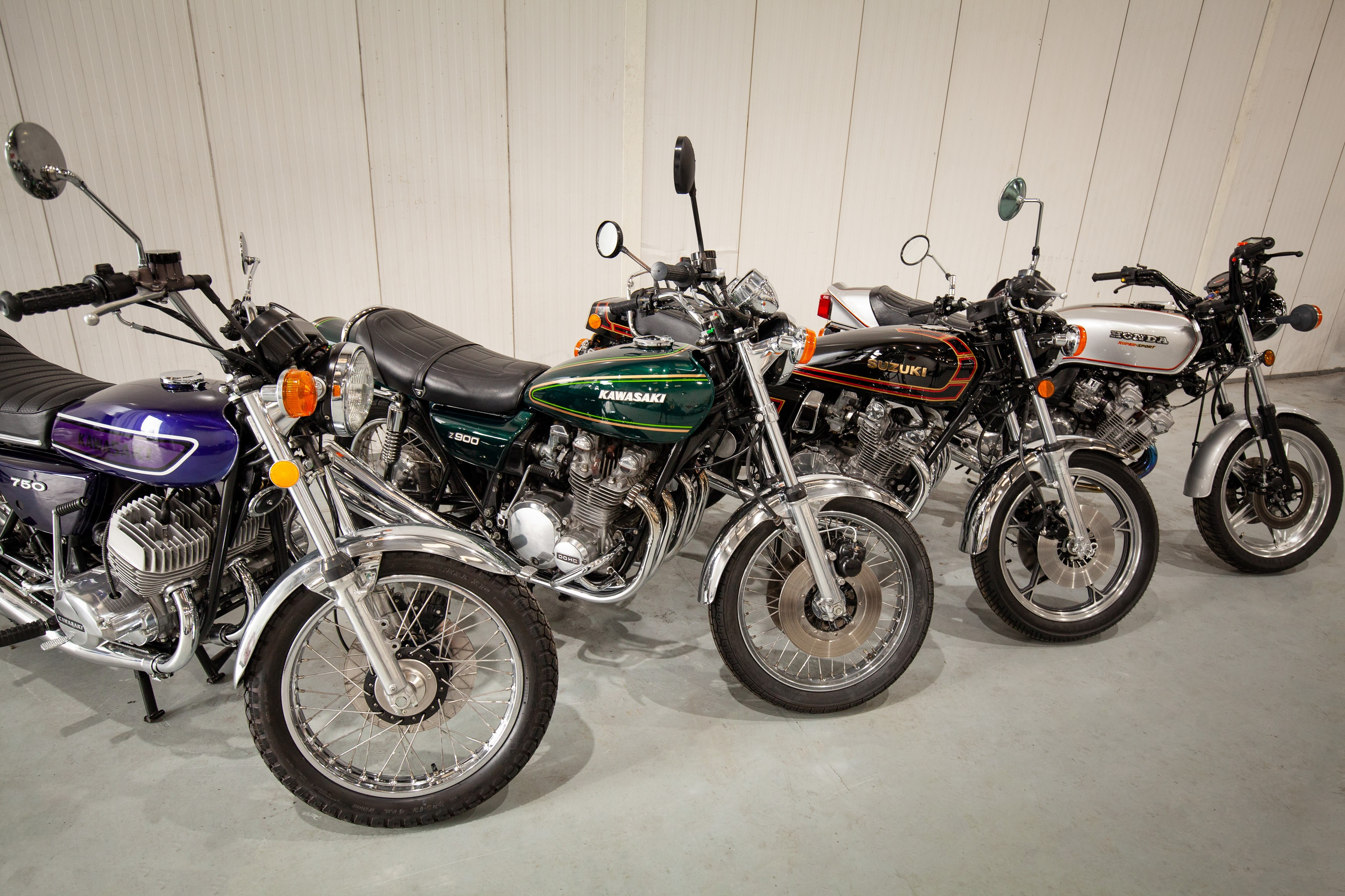 The History of 70's Superbikes in One Fabulous Collection