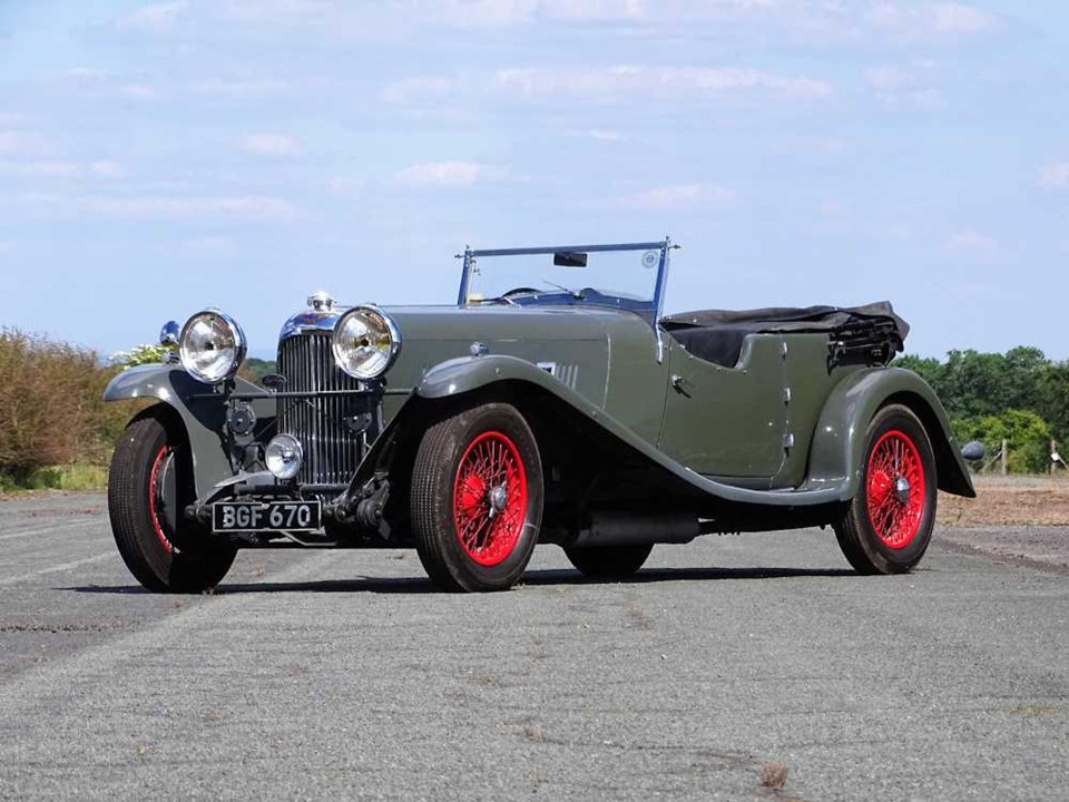 OLD WARHORSE LAGONDA LEADS THE WAY AT £188,600 FOR H&H CLASSICS