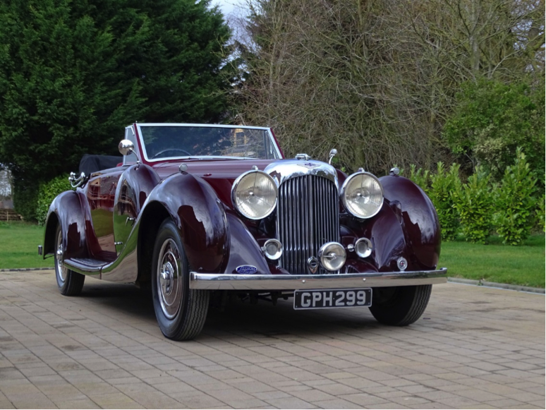 THE ULTIMATE SPORTING LAGONDA:  1934 LAGONDA M45 RAPIDE TOURER ONE OF JUST 52 PRODUCED
