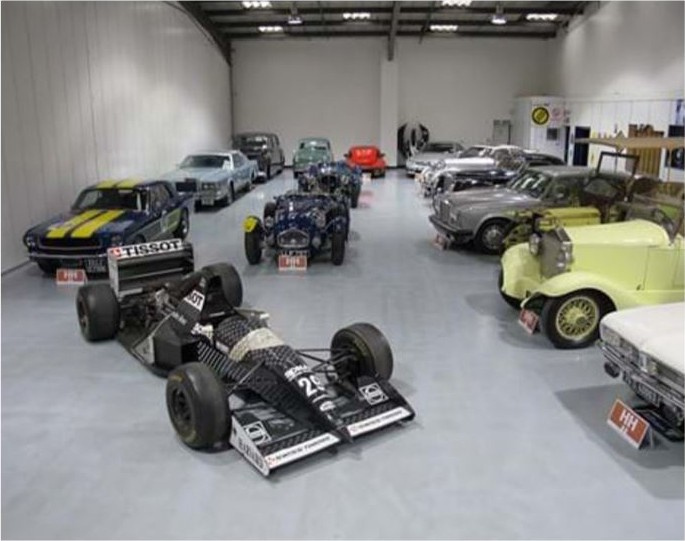 Classic Car Air Controlled Storage