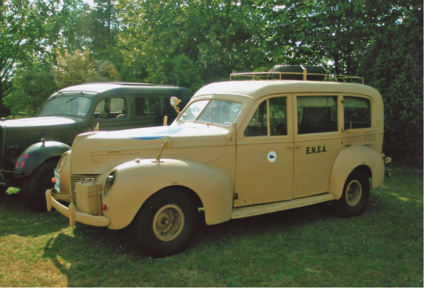 A unique Mercury Eight Estate Car that toured with the eighth army during WW2