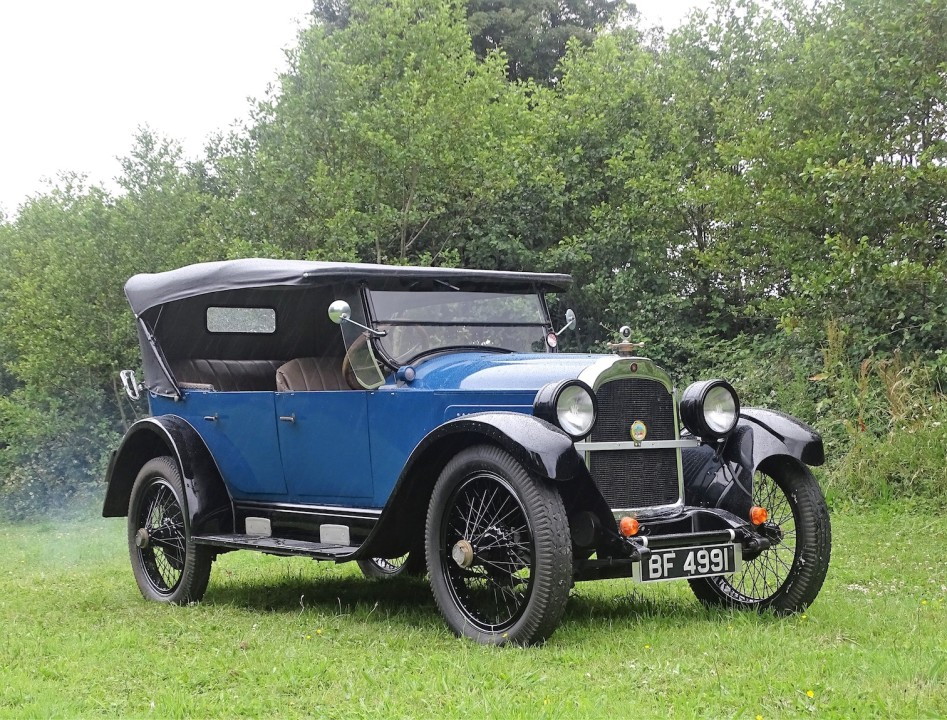 1923 WILLYS KNIGHT MODEL 64 TOURER FOR SALE WITH H&H CLASSICS