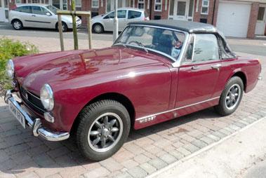 Lot 85-1974 MG Midget 1275