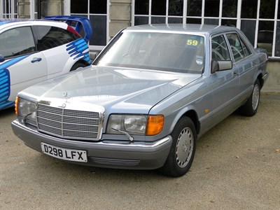 Lot 59-1987 Mercedes-Benz 420 SE