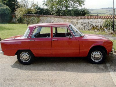 Lot 40-1972 Alfa Romeo Giulia 1600 Super