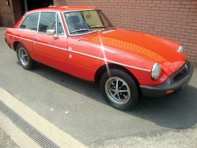Lot 75-1977 MG B GT