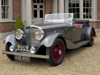 Lot 14 - 1936 Bentley 4.25 Litre Vanden Plas Style Tourer