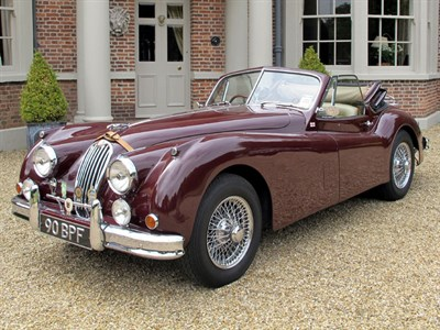 Lot 15 - 1956 Jaguar XK140 Drophead Coupe