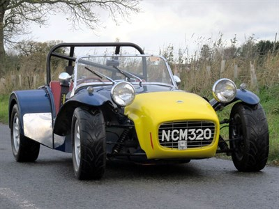 Lot 67-1962 Lotus Seven S2