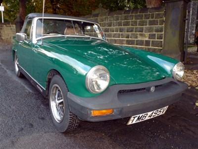 Lot 101-1980 MG Midget 1500