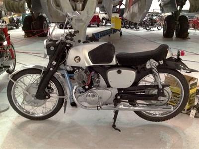Lot 79-1960 Honda CB92 Super Sport